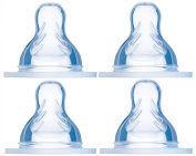 MAM 99964034 Set of 4 Bottle Teats Size 3 and 4