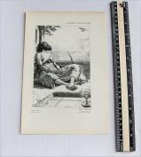 Arthur Boyd Houghton - Antique Print - The Vision of Sheikh Hamil