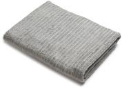 Danica Studio Aegean Bath Sheet, 90cm by 170cm , Pewter Grey