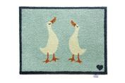 Hug Rug Bathroom 14 Mat Ducks, Highly Absorbent, Machine Washable, Size 65x85cm
