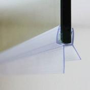 Anti-Fungal Shower Door Seal - 1 Metre long - Seals gaps between your shower screen & prevents fungus build-up
