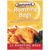 Sealapack Roasting Bags 25cm x 38cm Pack 12
