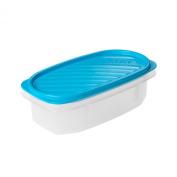 TATAY 1163000 Oval Food storage container 0.5 L Plastic Blue 18.5 x 6.5 x 6.5 cm
