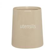 Premier Housewares Fletcher Utensil Jar, Beige