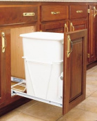 Rev-A-Shelf Pull Out Waste Container, 33.1lz