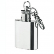 Culater®Mini 30ml Stainless Steel Hip Flask Alcohol Flagon with Keychain E0Xc