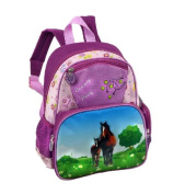 Stefano Kid's Backpack Horse pink rosa