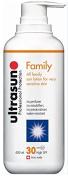 Ultrasun Super Sensitive Sun Protection Family Formula SPF 30 400ml