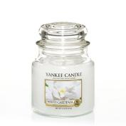 Yankee Candle Medium Jar Candle, White Gardenia