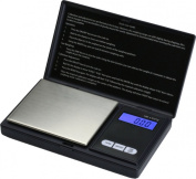 CrazyGadget® Digital Electronic Pocket Mini Weighing Precision Scale 100 x 0.01g (6 Weighing Units:g,oz,gn,ct,ozt,dwt) - Black