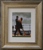Anniversary Waltz by Jack Vettriano Framed Art Print Picture (33cm x 28cm) Silver Frame