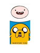 Adventure Time Finn and Jake Beach Towel