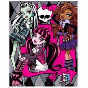 New Kids Monster High Fleece Blanket