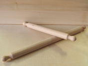 Limewood rolling pin. Lenght 70 cm, diameter 4.2 cm Cod. E85/70