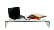 Silicon (Glass Effect) Prestige Acrylic Monitor/TV Stand