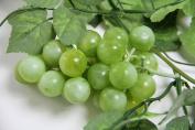 180cm Artificial Green Grape Vine Garland - Artificial Plant with Fruit