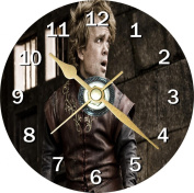 Game of Thrones Tyrion Lannister Novelty Cd Clock + Free Desktop Stand