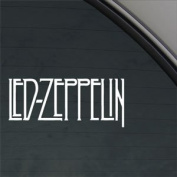 Led Zeppelin Decal Page Rock Band Window Sticker