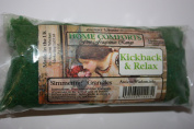 Kickback & Relax (Living Room) Home Comfort Simmering Granules 200g bag, Kick Back & Relax, Ideal for using in oil burners (instead of essential oils), scenting letters, putting in ashtrays to combat the smell, fragrancing and decorating vases & planters