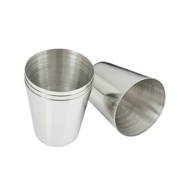 leading-star 1 oz 35ml Stainless Steel Wine Drinking Shot Glasses Barware Cup
