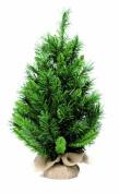 Festive Princess Pine Mini Christmas Tree 60 cm Green