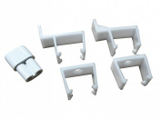 Greenbrook T5 Mounting Bracket clips for T5 Fluorescent fittings