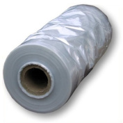 """Hangerworld 84"""" (213cm) Roll of Clear Polythene Garment Clothes Long Dress Gown Cover Bags - Jumbo Roll 12.5kg - 100 Gauge Thickness"""
