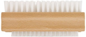 Chef Aid Double Sided Wooden Nail Brush, Beige