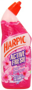 Harpic Active Fresh Cleaning Gel 750 ml - Pink Blossom, Pack of 12