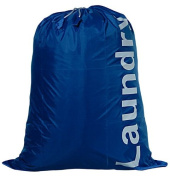 Kleiber Laundry Bag with Draw String Closure, Blue