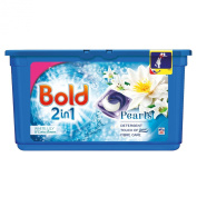 Bold 2-in-1 Pearls White Lily and Lotus Flower Washing Capsules 38 Washes