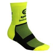 Optimum Men's Nitebrite Hi-Viz Winter Cycling Socks