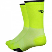 Defeet - Cyclismo Hivis cycling socks neon yellow