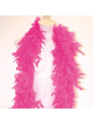 Cerise Feather Boa 1.8m Fancy Dress Party