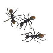 3Pcs Black Plastic Fake Ant Joke Trick Toy Halloween Party Prop