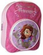 SOFIA THE FIRST GIRLS SCHOOL OR NURSERY BACKPACK WITH FRONT ZIPPED POCKET
