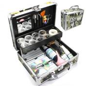 New Professional Eyelash Extension False Eye Lash Full Kit Set with Fashion Hard Case Suitcase A150