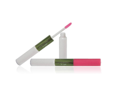Gowa Lip Embroidery & Care Essence Tint and Plumper Gloss 5ml + 5ml (Soft Rose)
