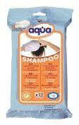 No Rinse Aqua Shampoo Gloves, 12 Count