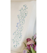 Dimensions Needlecrafts Embroidery, Filigree Scroll Pillow Cases