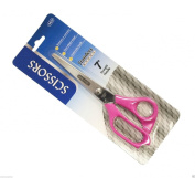 Wennow Performance Office Scissors 18cm Stainless Steel - Right or Left Hand - Pink
