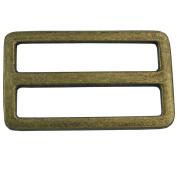 """Bluemoona 20 Pcs - 1.5"""" 38mm Metal Adjustor Triglides Slides Leather strap Webbing Buckles"""