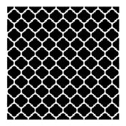 Colonial Mosaic Pattern Stencil - 50cm x 50cm
