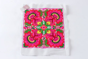 Flower Textiles Hmong Fasionable Style Embroidered From Thailand