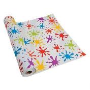 Paint Splatter Tablecloth Roll