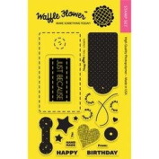 Waffle Flower Crafts Clear Stamps 10cm x 15cm -Surface Tag