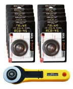 45MM ROTARY CUTTER + 10 x BLADES, Get The Deal!