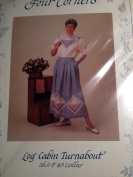 Log Cabin Turnabout - Skirt and Collar Quilt Pattern