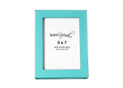 5x 7 Picture Frame with 2.5cm Border (Gallery Collection) - Turquoise