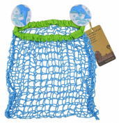 Baby Bath Toy Organiser Bathroom Tub Hanging Child Bath Toy Net Storage Bag Holder with 2 Suction Cups